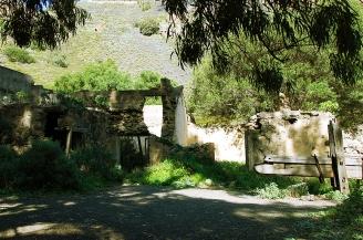 Ruinas de vivienda